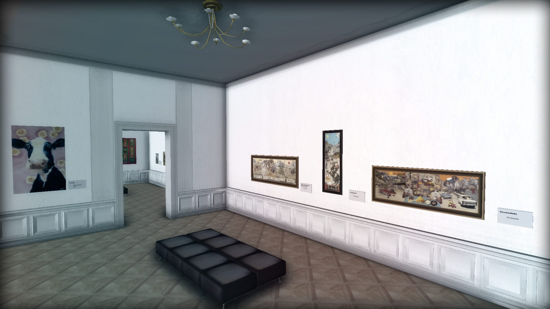 virtual world art gallery exhibit | twinity blog